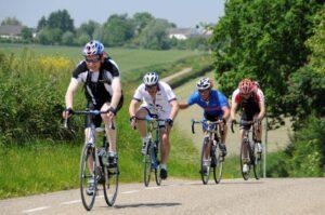 fietsen in het heuvelland