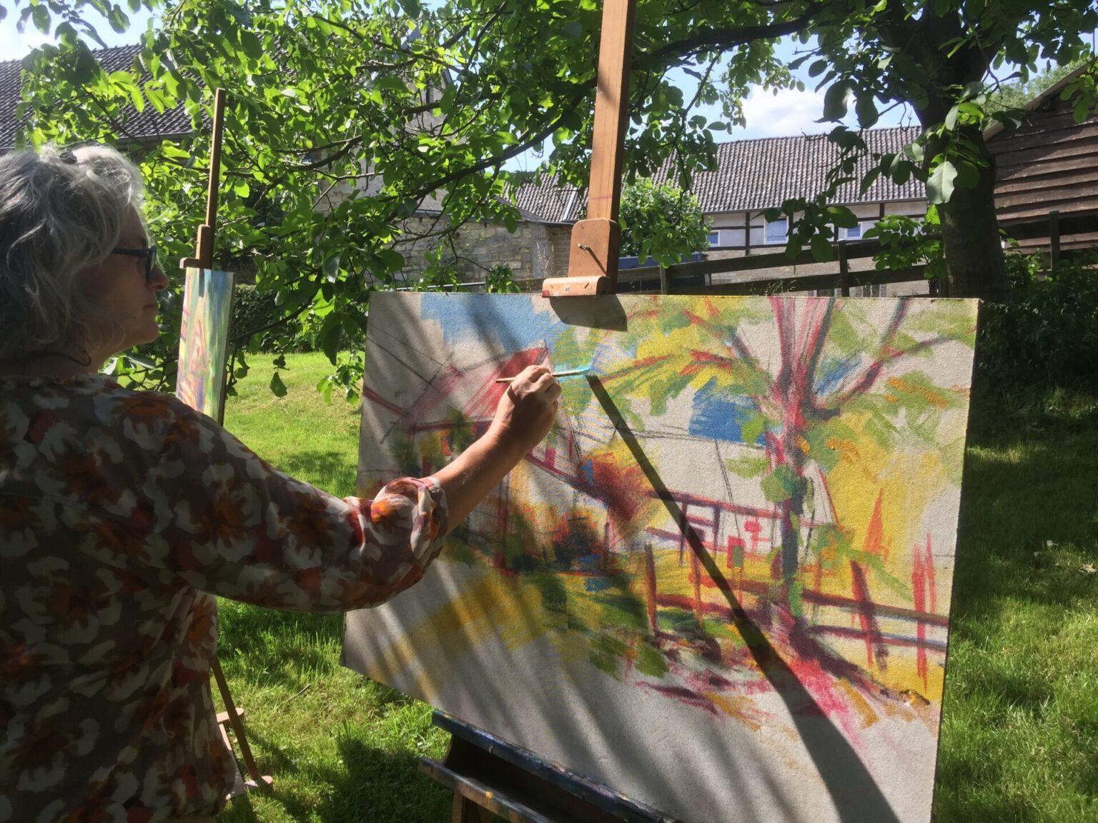 plein-air schilderen